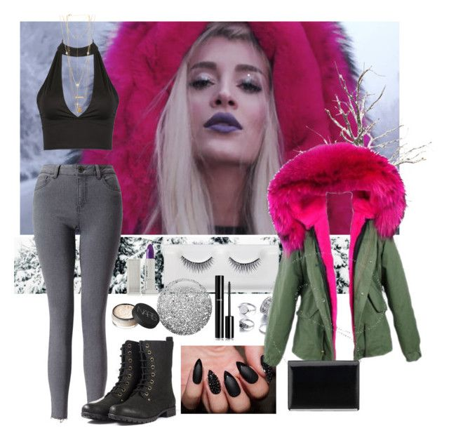 """""""Era istrefi. Bonbon"""" by www-som ❤ liked on Polyvore featuring Miss Selfridge, Lipstick Queen, Topshop, Chanel, House of Harlow 1960, NARS Cosmetics and Nine West"""
