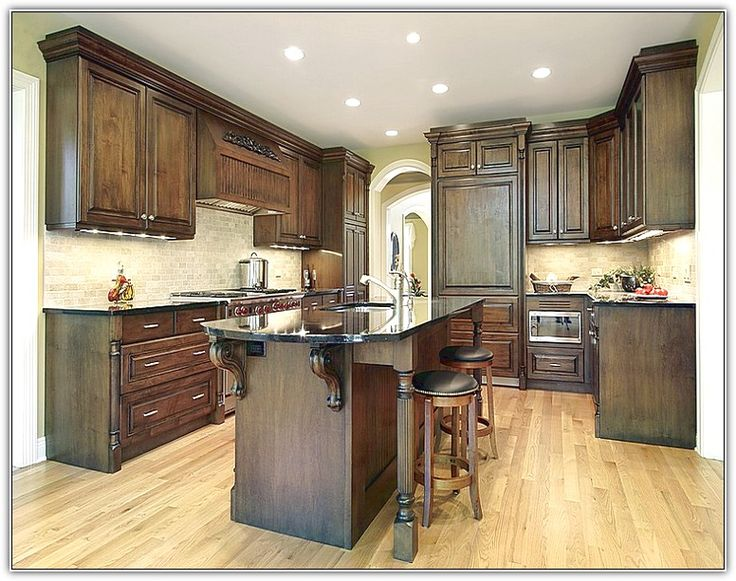 Update Oak Kitchen Cabinets Without Paint Home Design ...