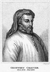 Wikipedia.org/ Geoffrey Chaucer--ENGLISH, 1343-1400, known as the Father of English literature, is widely considered the greatest English poet of the Middle Ages