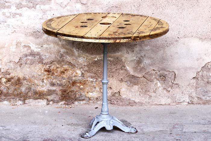 Table bistrot rénovée & relookée