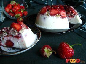Торт-желе с клубникой и орехами - Кулинарные рецепты на Food.ua