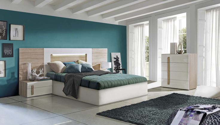 18 best Schlafzimmer images on Pinterest Arquitetura, Bed - schlafzimmer kiefer massiv