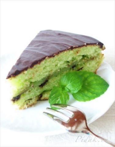 Obrázek z Recept - Torta alla menta - Mátový dort