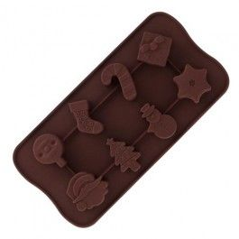An easy-to-use mould for home-made chocolates in seasonal shapes. Jane's Tip: