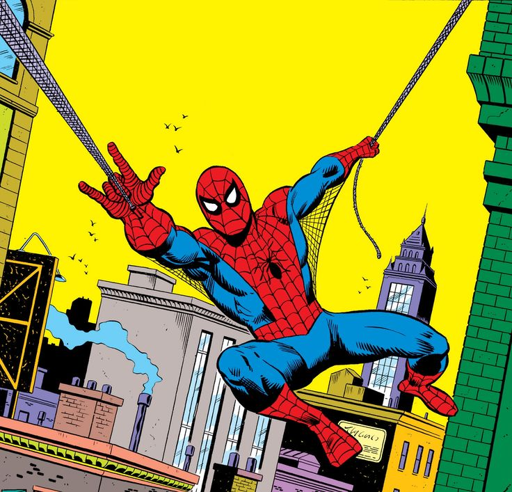 Spider-Man, art by Sal Buscema and Mike Esposito, 1976.