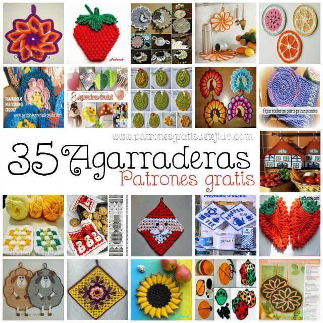 colección de los viernes agarraderas crochet