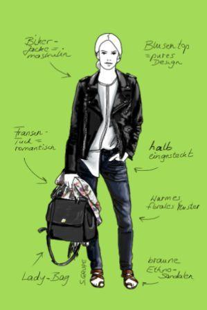 Mode-Basics aufpeppen: 6 Methoden wie Sie Outfits ...