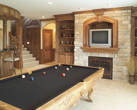 billiards rooms - Google Search