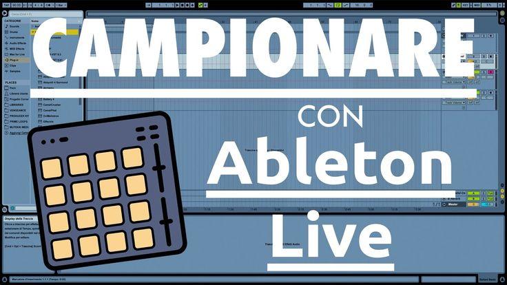 Come campionare con Ableton Live 9   Bellant Beats