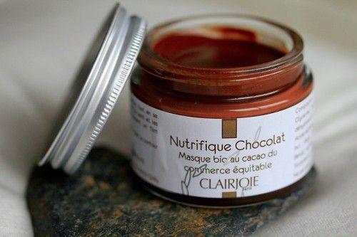 masque au chocolat   http://www.clairjoie.com/fiche_produit.php?id=18