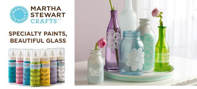 Best 25 craft superstore ideas only on pinterest for Martha stewart glass paint instructions