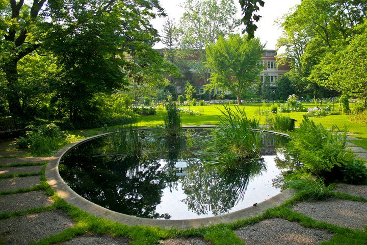 Pond In The Horticultural Gardens At Michigan State University, East  Lansing, MI. Where Tim And I Got Married. | Public Gardens | Pinterest |  Michigan State ...