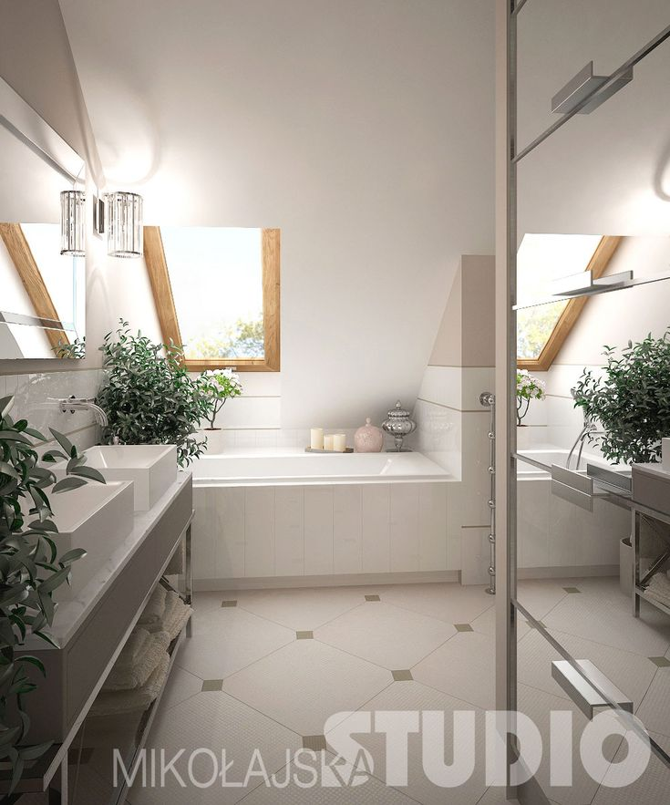 Jasna łazienka w stylu nowojorskim #styl nowojorski #biała łazienka #wnętrza