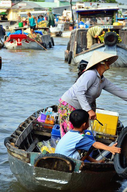 Can Tho, Vietnam, Mekong Delta