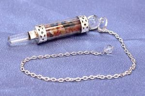 Crystal Chips Long Pendulum