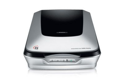 the Epson Perfection® 4490 Photo delivers extraordinary results with professional quality 4800 x 9600 dpi resolution and an impressive 3.4 D...