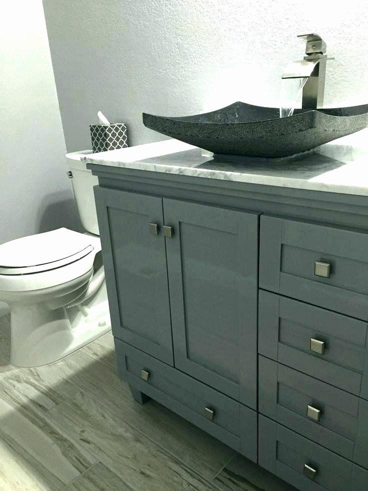 43+ Bathroom vanity with vessel sink ideas diy