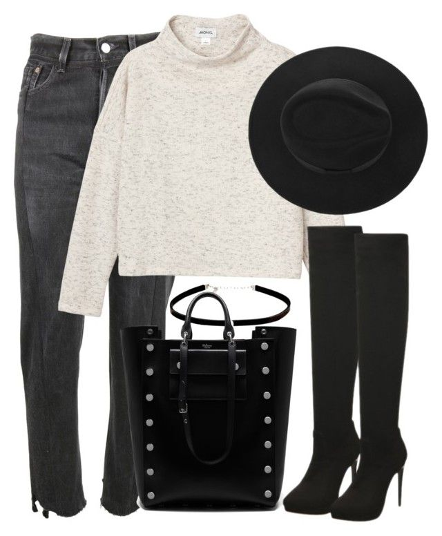 """""""Untitled #2920"""" by theaverageauburn on Polyvore featuring Vetements, Monki, Carbon & Hyde and Mulberry"""