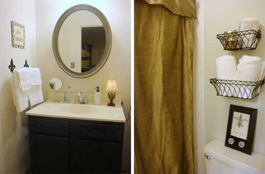 A $200 Bathroom Makeover Using Craigslist Finds — Where The Heart Is