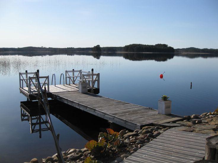 Kevätaamu parhaimmillaan #Punkaharju  #Puruvesi #Suomi #talo #myytävänä #talomyytävänä #houseforsale #homeforsale