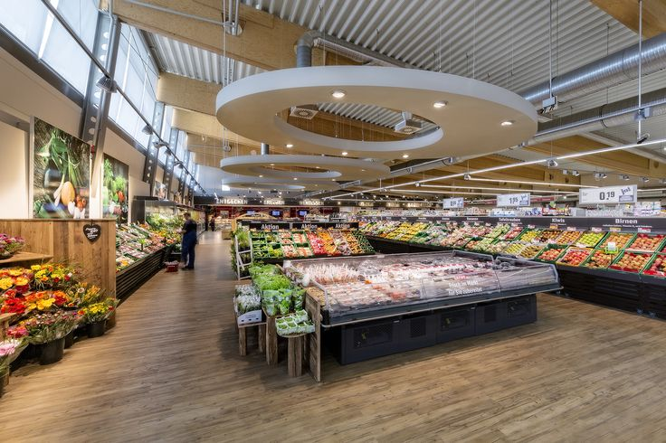 REWE, Wolfrathshausen (Germany) #food #light #retail #energy #beleuchtung #licht #rewe