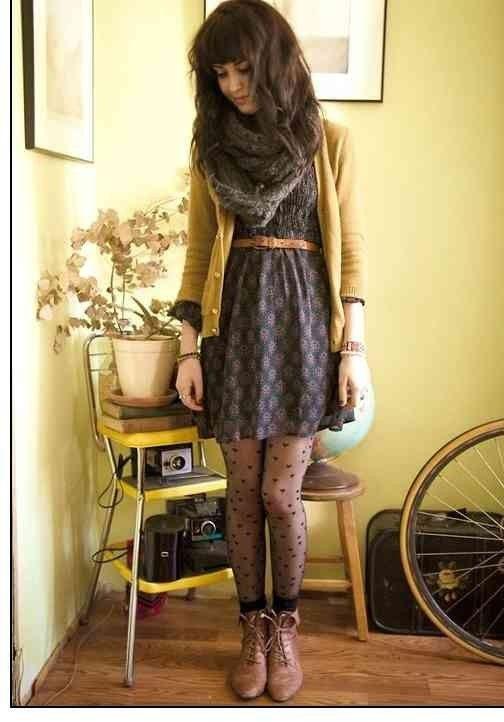 18 Layer Cardigans über Kleider für den Herbst