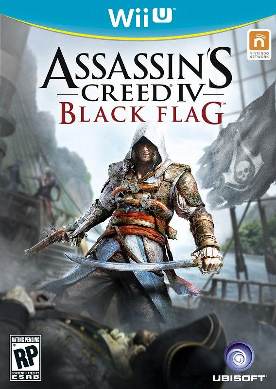Assassins Creed IV: Black Flag (Wii-U)
