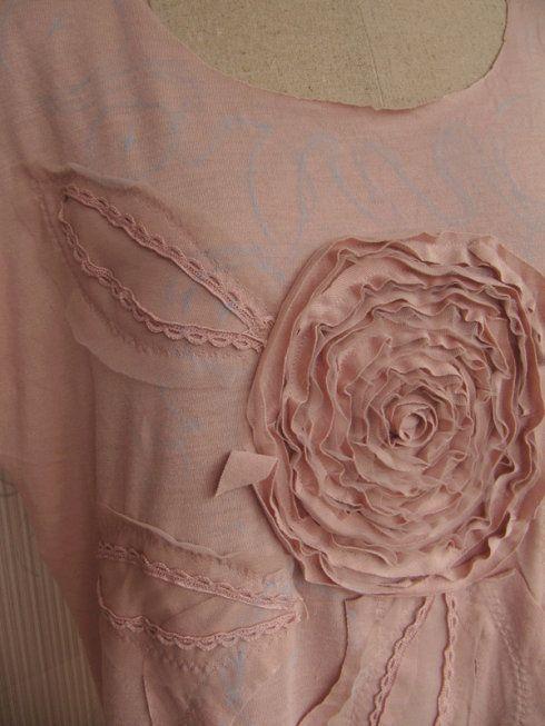 原创—花朵针织连身裙(续篇)