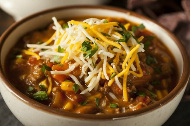 Slow Cooker Southwestern Turkey Chili - Tons of Flavor!  www.GetCrocked.com