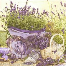 Lavender serviettes... reminds me of my Sissy, she loves purples....