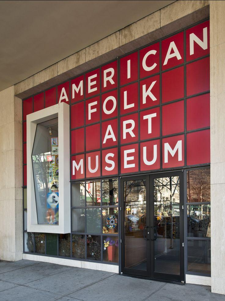 American Folk Art Museum, New York, New York  www.folkartmuseum.org