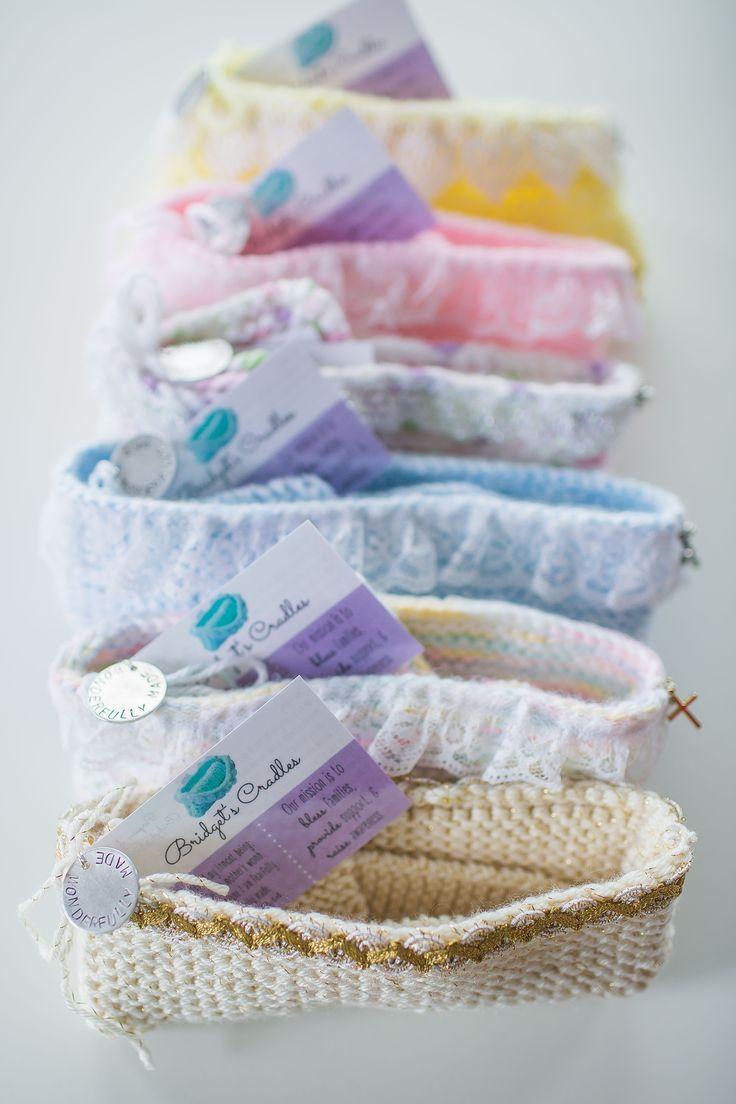 Knitting Patterns For Stillborn Babies : Bridgets Cradles - special hand-knit/crocheted cradles for stillborn bab...