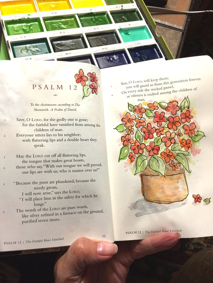 Psalm 12 Little Book Journaling By Patjournals