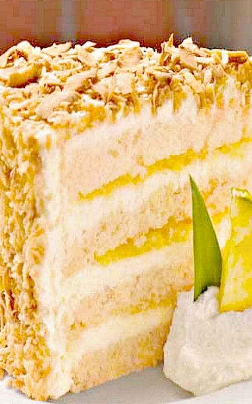 Tommy Bahama Pina Colada Cake