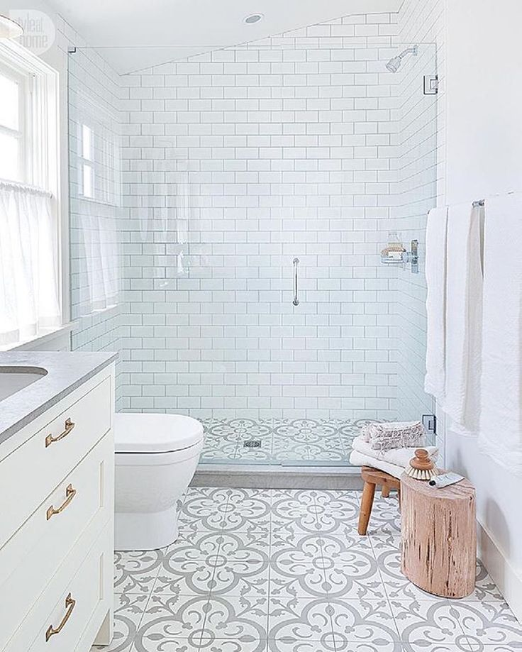 Mother's Day gift guide on the blog today -- all under $100, details on Beckiowens.com.  Love this pretty bathroom via @styleathome