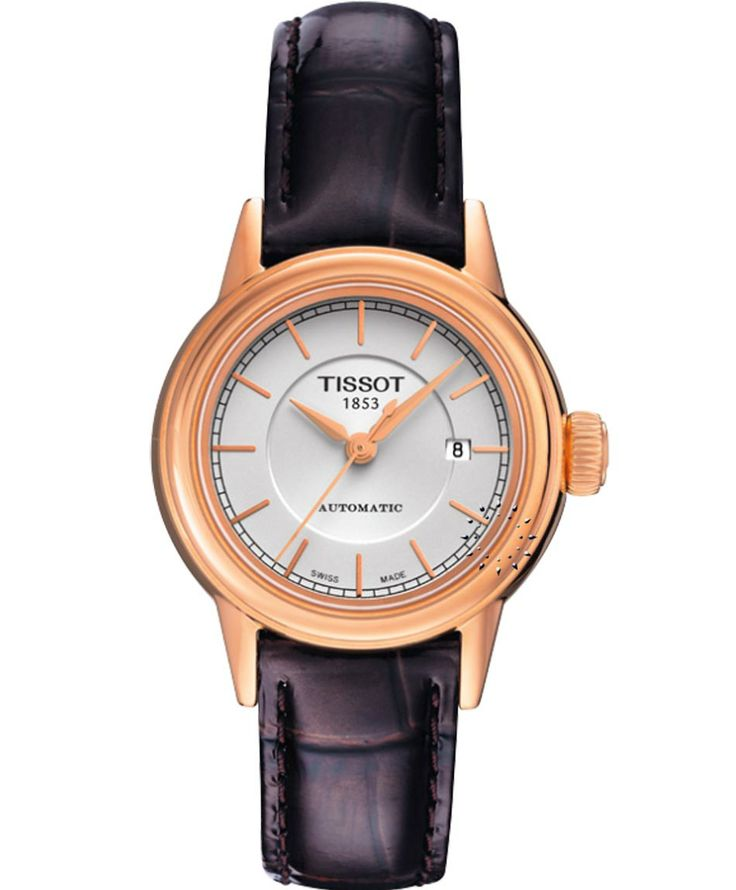 Tissot Carson Automatic Ladies Black Leather Strap Η τιμή μας: 503€ http://www.oroloi.gr/product_info.php?products_id=34577