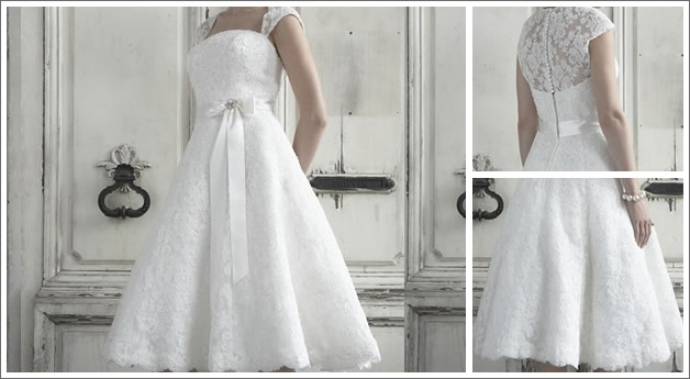 this website looks like child labor central, but just pinning this for style ideas...Lace Wedding