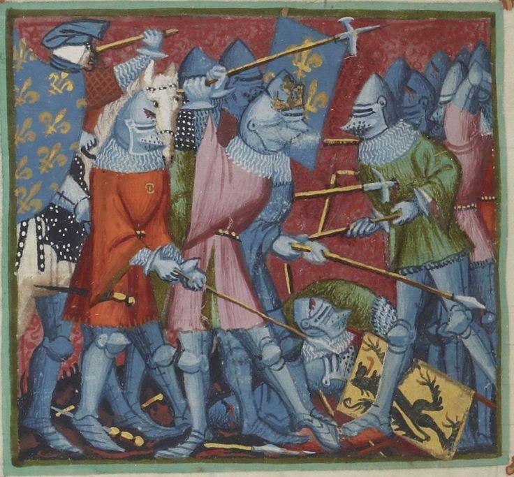 Manuscript: BNF Français 2608 Les grandes Chroniques de France Dating: 1390-1405 From: Paris, France