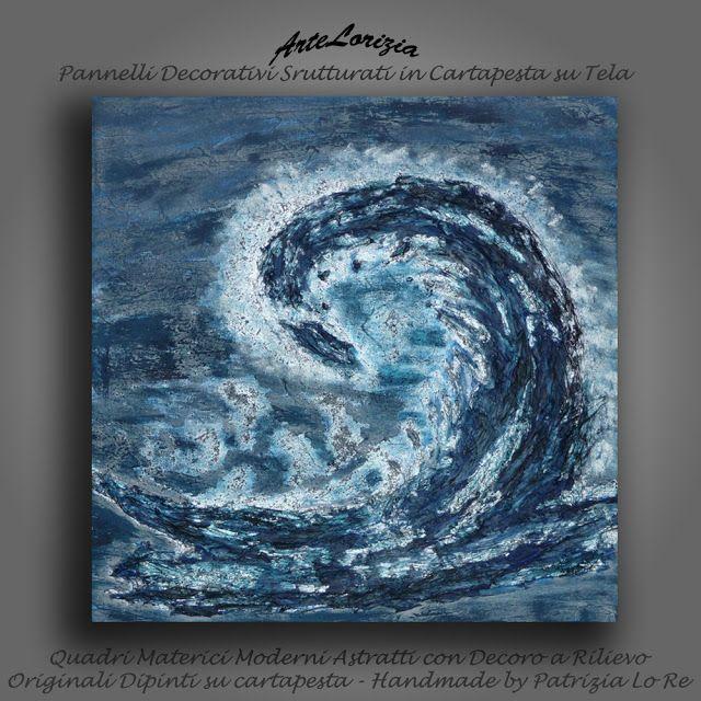 Quadri a Rilievo in Cartapesta - Pannelli decorativi - Arte Contemporanea    di Patrizia Lo Re: Vento di mare