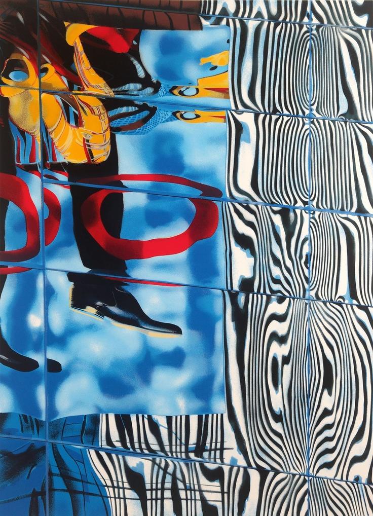 Big Apple Silkscreen Print by Brendan Neiland
