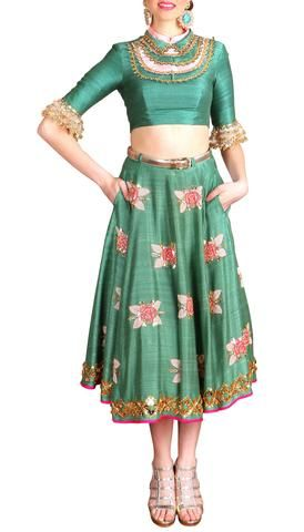 SALE, INDIAN BRIDAL COUTURE, INDIAN FUSION, INDO WESTERN, WESTERNWEAR, RUNWAY FASHION , HIG STREET, PRET, PAPA DONT PREACH, SHUBHIKA – Papa Don't Preach by Shubhika