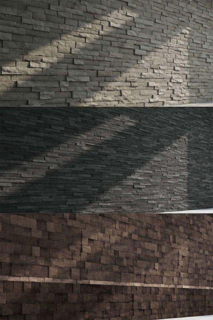 El equipo de State of Art Academy, la academia de entrenamiento digital italiana, comparte esta pequeña colección de texturas con 3 variaciones de muros de piedra, creadas con la ayuda de Substance Designer.