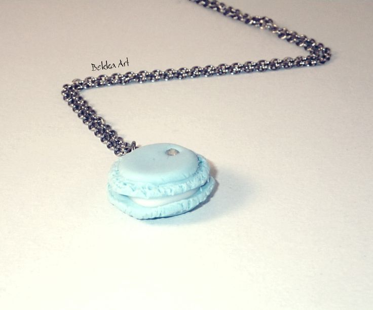 Macaron shaped pendant  ... Bekka Art Sweet Summer '16 collection .