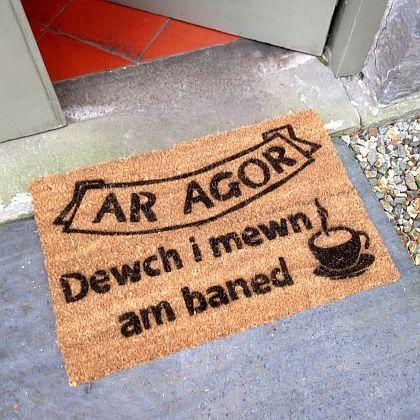 Ar Agor Door Mat