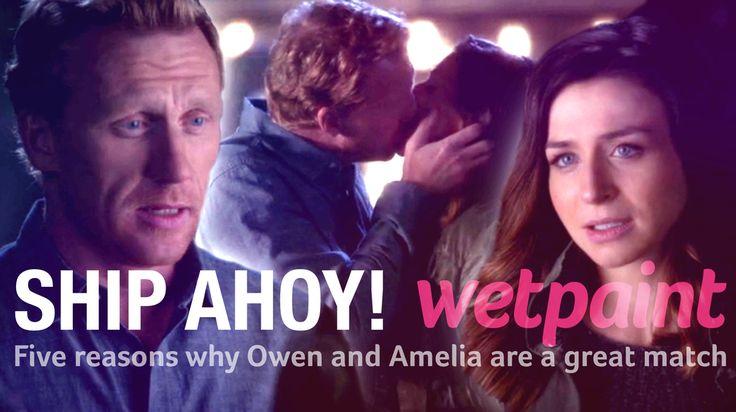 ... on Pinterest   Grey anatomy season 10, Grey and Amelia shepherd