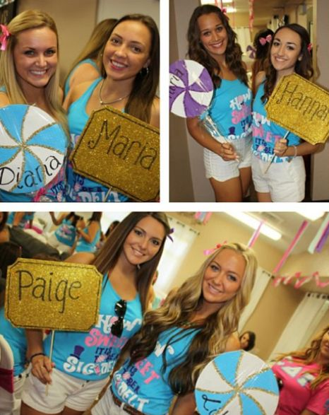bid day candy signs - Google Search