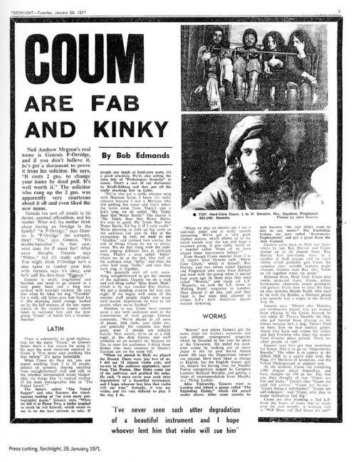 Elvis in Wonderland • cacophagy: COUM
