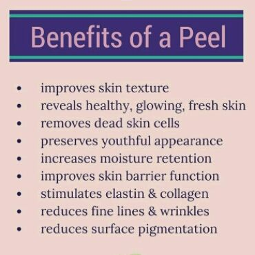 I Love Chemical Peels! There are so many amazing benefits from having a chemical peel! Here are a few...♡ A chemical peel is facial rejuvenation procedure. It is non-surgical but, depending on the ...