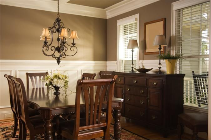 Pretty wish i knew this paint color interiors Pretty dining rooms