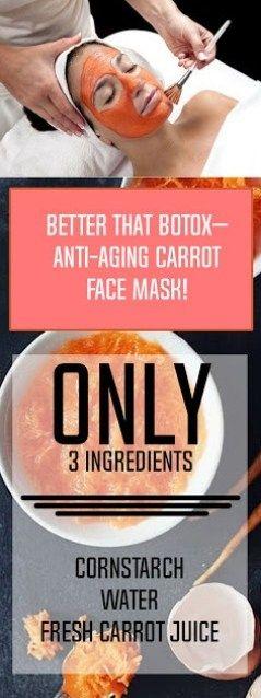 That Botox Anti-Aging Carrot Face Mask!!!!